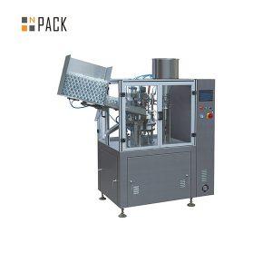 Промышленная машина для наполнения и запайки пластиковых туб