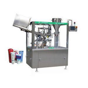 Автоматическая машина для наполнения и запайки мазей с мягкой кожей