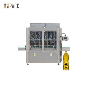 Автоматическая горизонтальная машина для наполнения жидкостью и растительным маслом