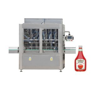Паста разливочная машина для томатной пасты, косметический крем