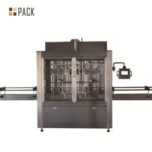 Двухголовочная пневматическая объемная поршневая разливочная машина