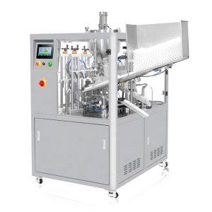 Ультразвуковая герметизирующая машина для наполнения косметических тюбиков