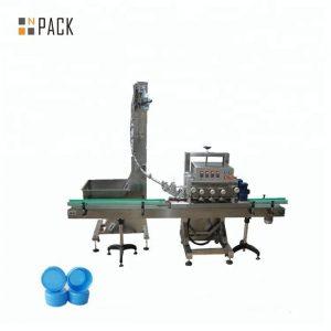 Автоматическая ротационная укупорочная машина для медицинской бутылки