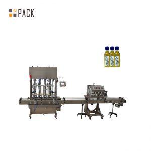 Автоматическая машина для наполнения жидким моторным маслом 1-5л