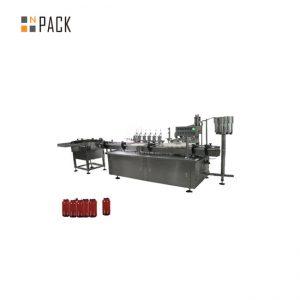 Бутылочка с глазными каплями, машина для наполнения лака для ногтей и укупорочная машина