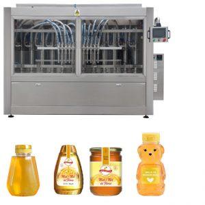 Автоматическая сервопоршневая соусная линия с медовым джемом Высоковязкая линия для нанесения этикеток