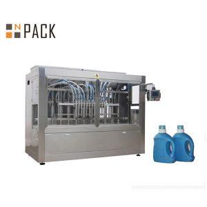Широко используемая машина для наполнения банок с клубничным фруктовым джемом