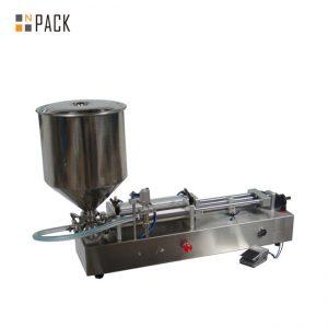 Очень популярная машина для наполнения мороженого / машина для наполнения двух головок / машина для наполнения лаков для ногтей
