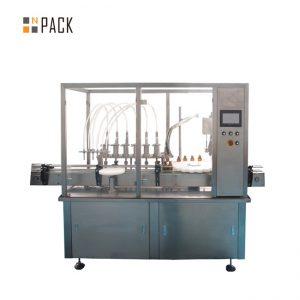 Оборудование для завинчивания крышек с эфирным маслом 10-100 мл E жидкость E Укупорочная машина для сока E
