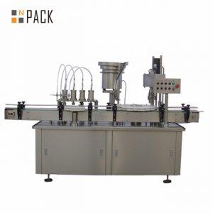 Автоматическая укупорочная машина для флаконов с каплями для глаз в форме капли e-жидкость 10 мл 15 мл
