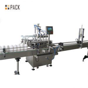 Автоматическая машина для розлива пищевого масла в 5 литровую бутылку