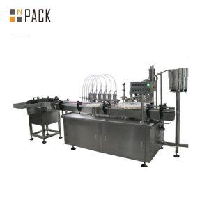 10 мл и 60 мл 3 в 1 заводская цена и оборудование для наполнения и укупорки жидких бутылок